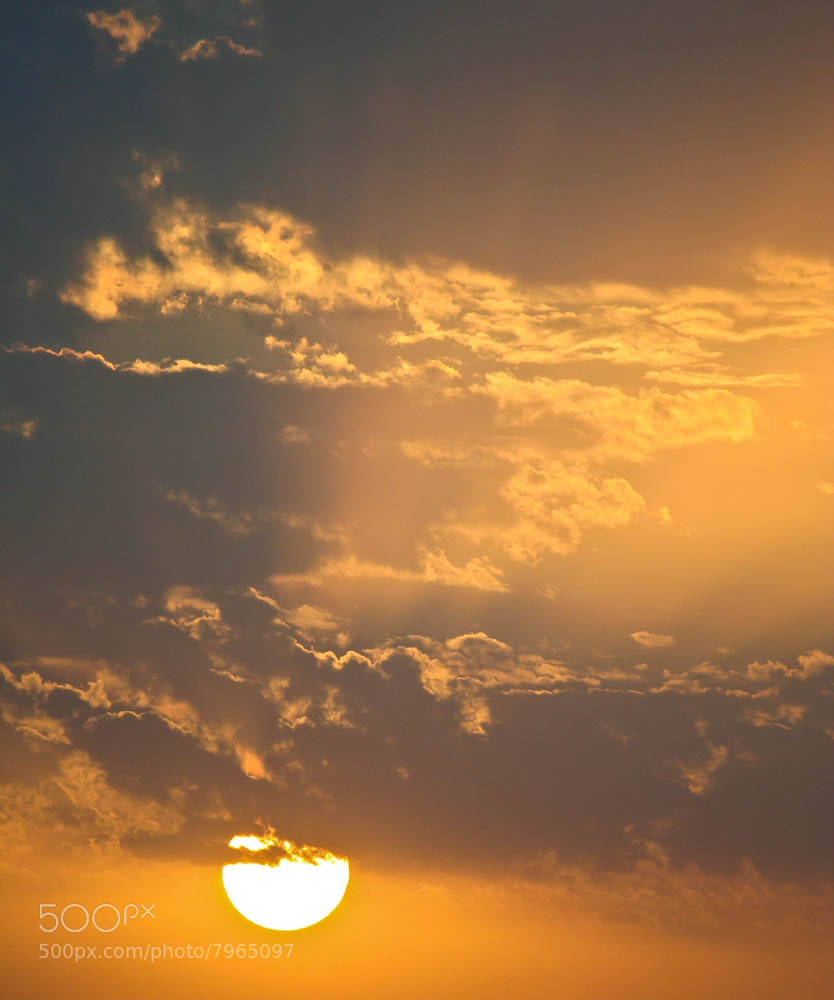 Photograph Sunset & Clouds II by Qmars Farahani on 500px