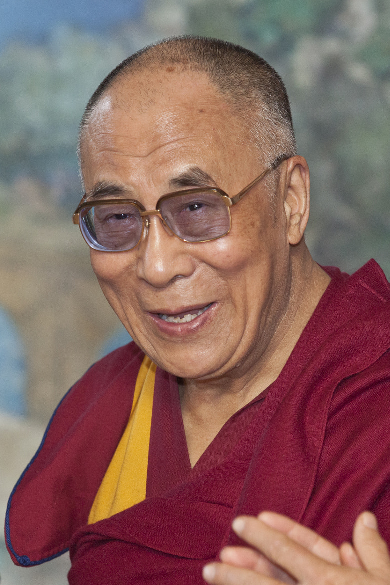 Photograph His Holiness the Dalai Lama by Olivier Heimana on 500px