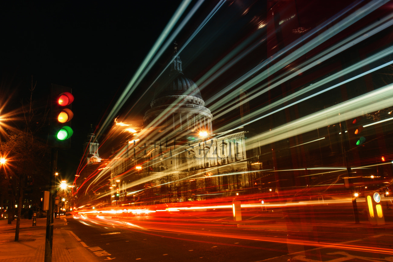 Photograph St Paul's Cathedral colour stream by Ray Wise on 500px