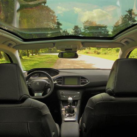 Peugeot 308 inside