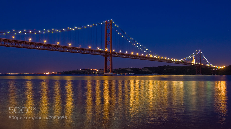 Photograph 25th of April bridge by Paulo Rocha on 500px