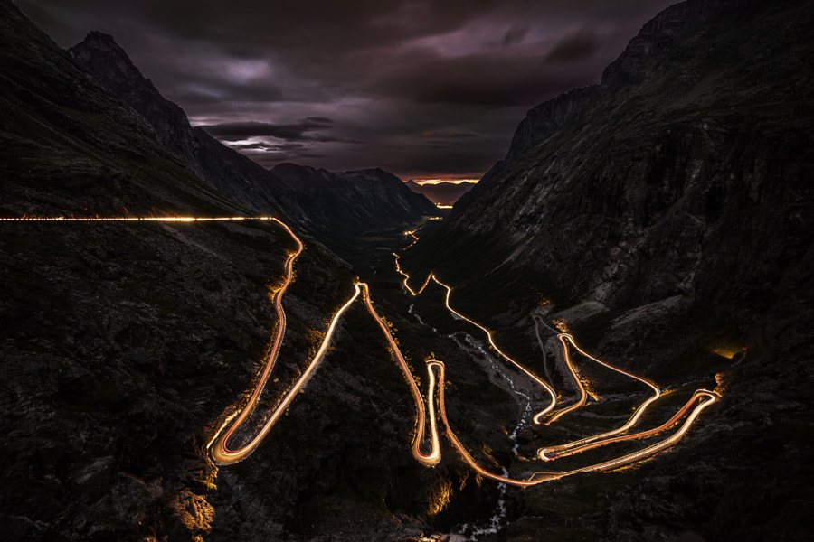 Trollstigen by Kristian Thuesen on 500px.com