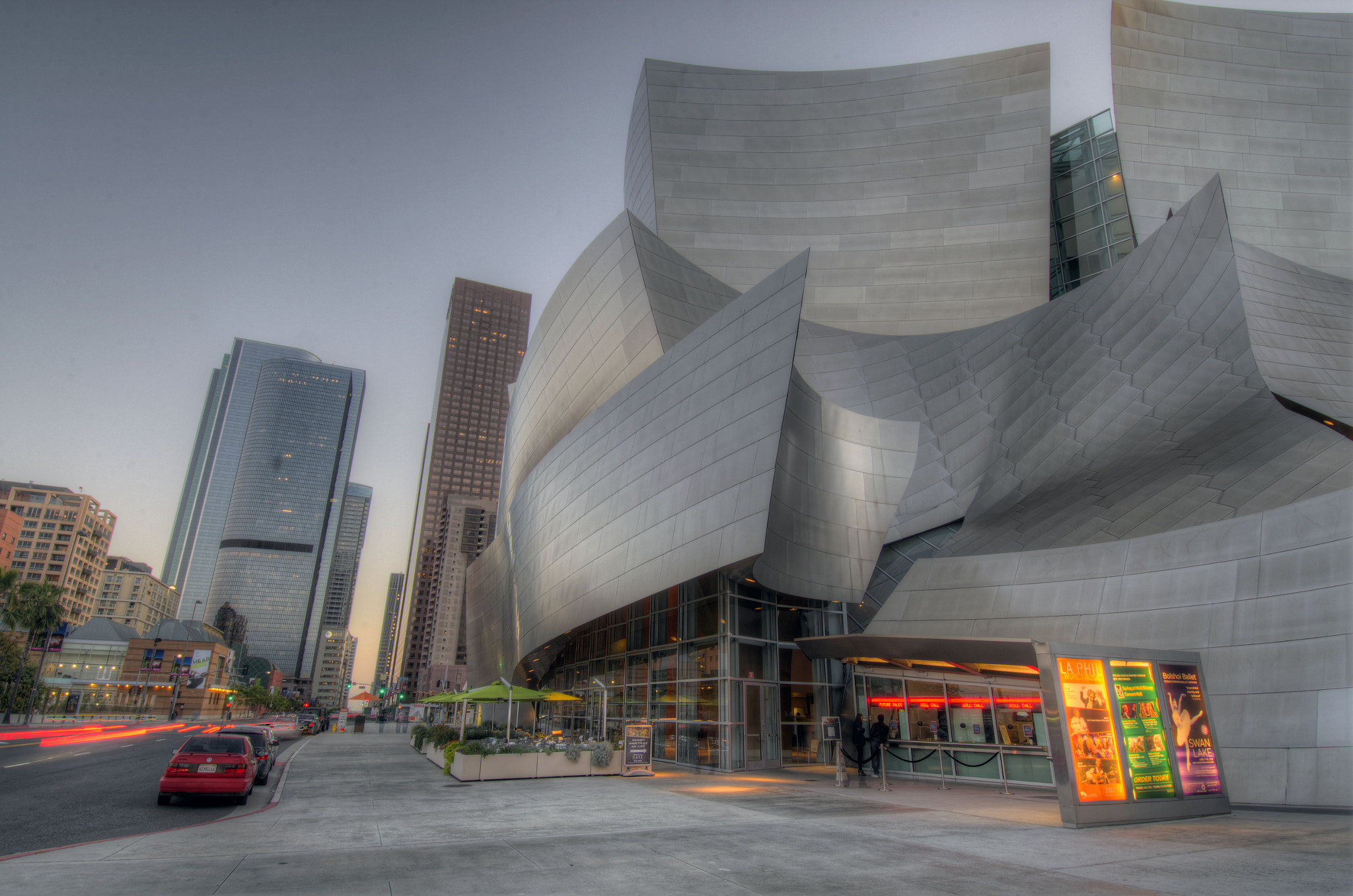Photograph Disney Concert Hall by Droobie Tuesday on 500px