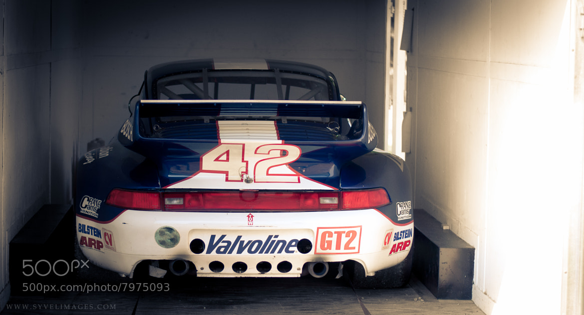 Photograph GT2 #42, Porsche 911, Driven by Miles Barefoot by Luke Sluder on 500px