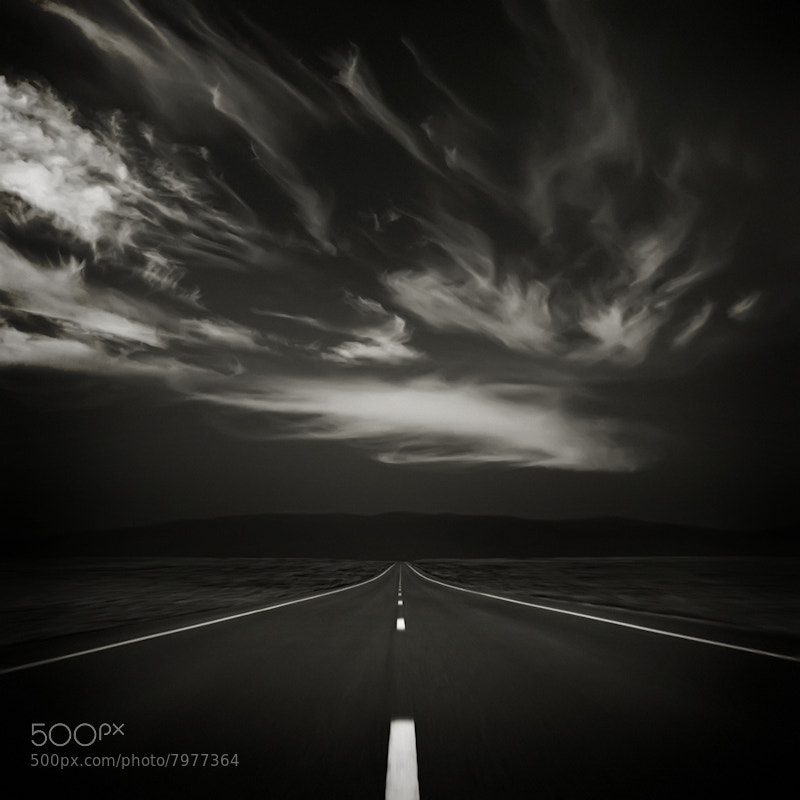 Photograph Twilight on the Road by Carlos Gotay on 500px
