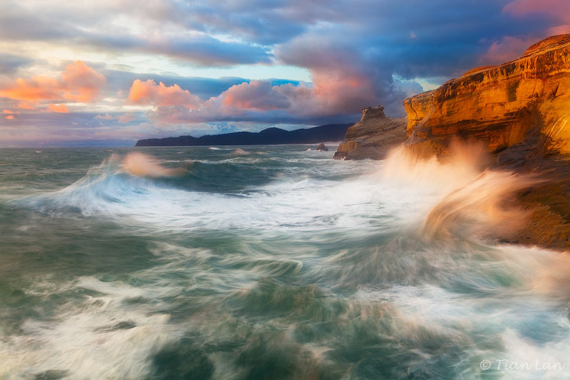 Photograph Stormy Sunset by Tian Lan on 500px