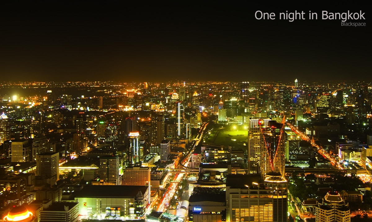 Photograph One night in bangkok by  : blackspace on 500px