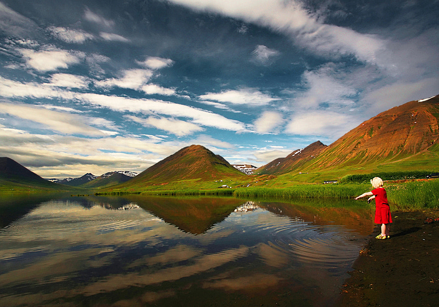 Photograph In Her Own World  by Þorsteinn H Ingibergsson on 500px