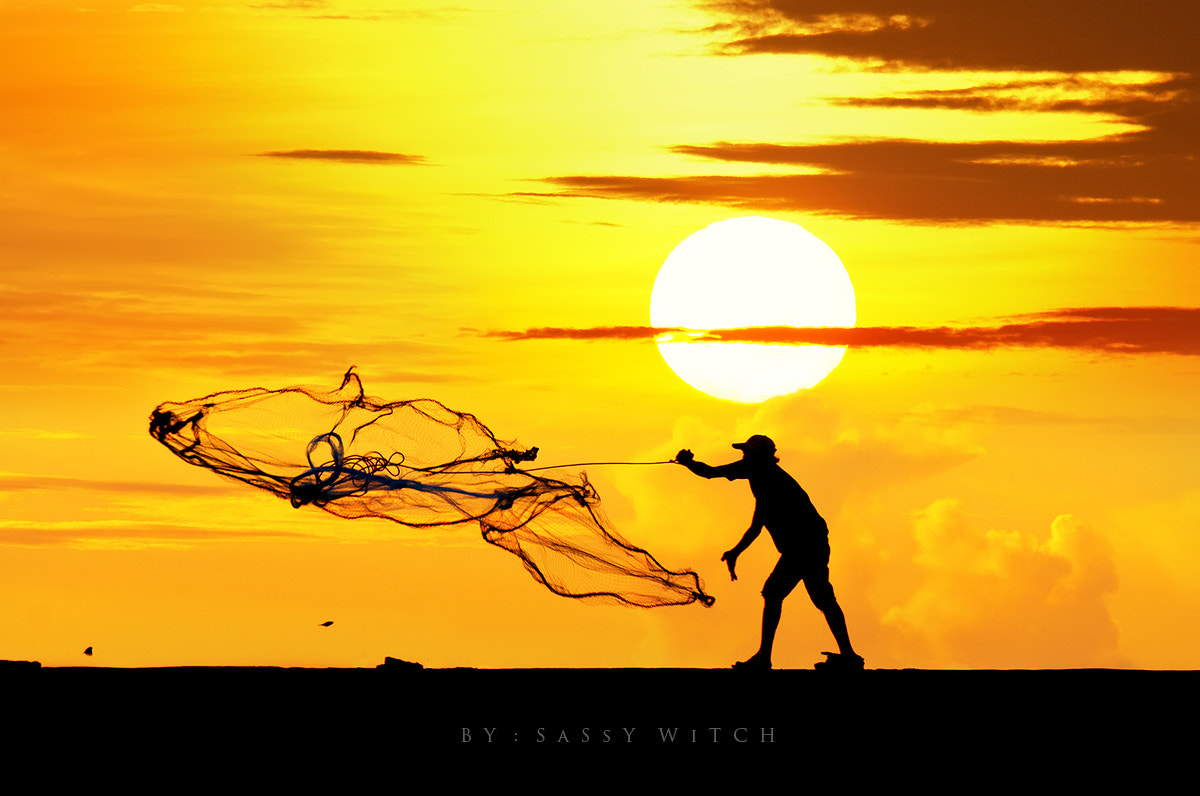 Photograph cast a net by SaSsY WiTCH on 500px