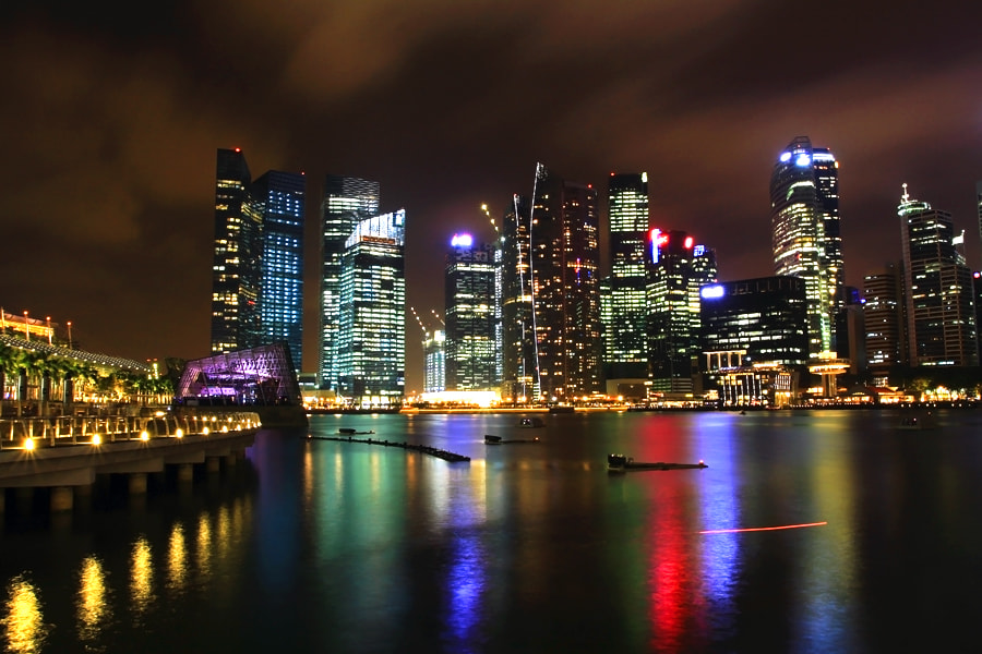 Photograph Singapore by Night by Soegio Halim on 500px