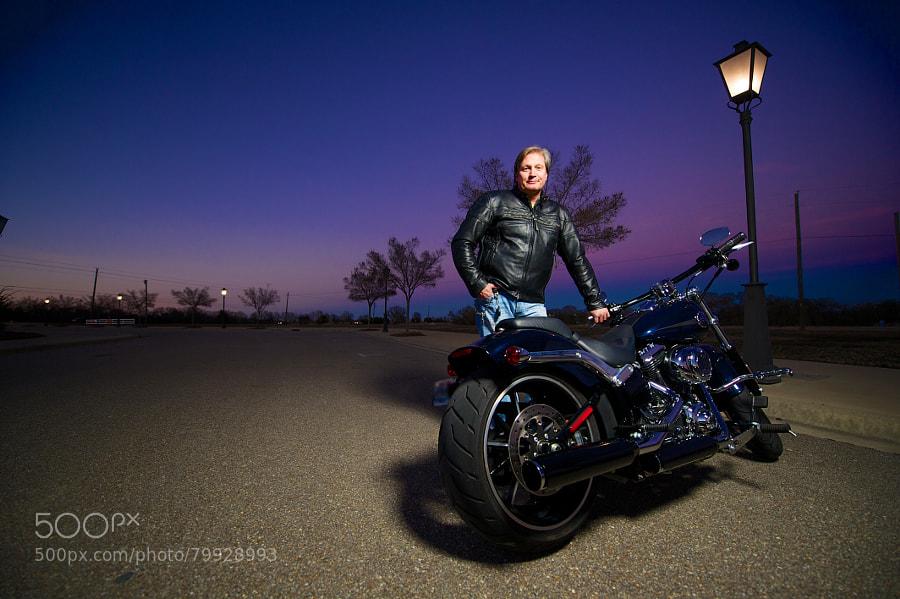 Photograph A Man & His Bike by Josh Whitman on 500px