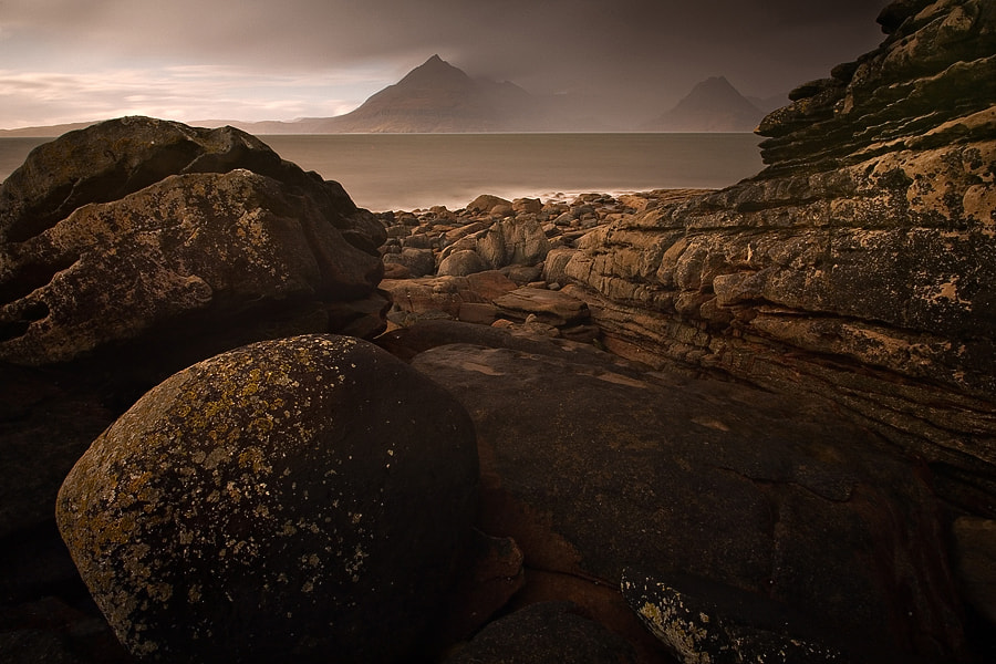 Photograph Storm on Elgol by Sebastien Briere on 500px