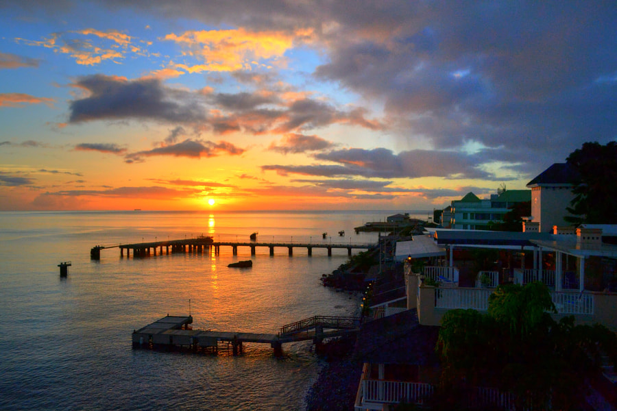 Photograph Sunset in Dominica by Anna-Eve ETIENNE on 500px
