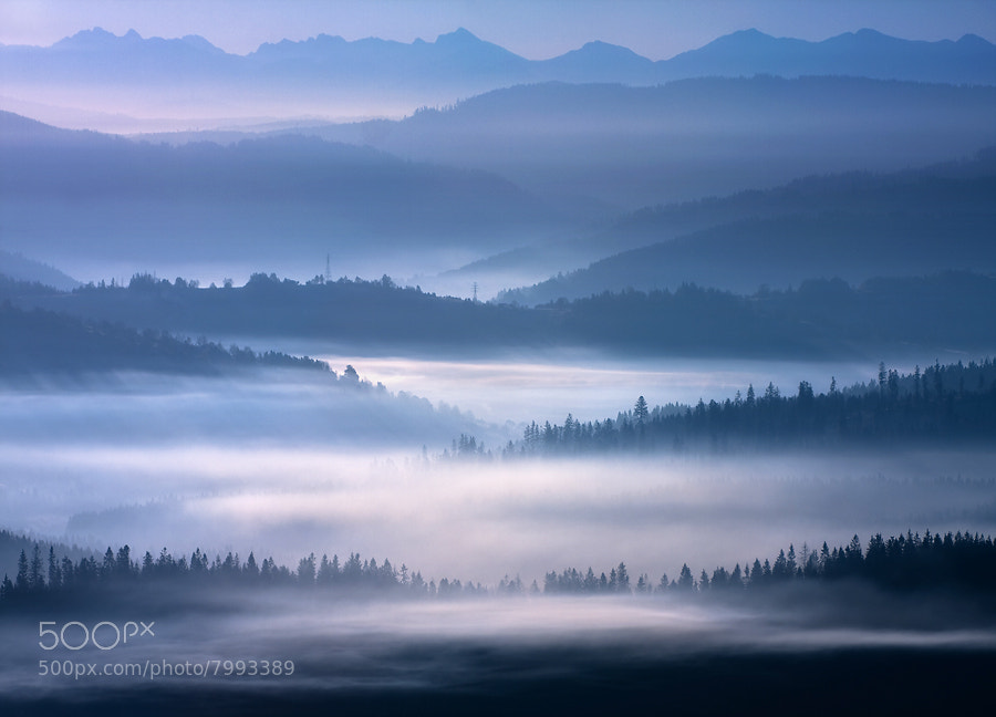 Photograph Ranges by Marcin Sobas on 500px