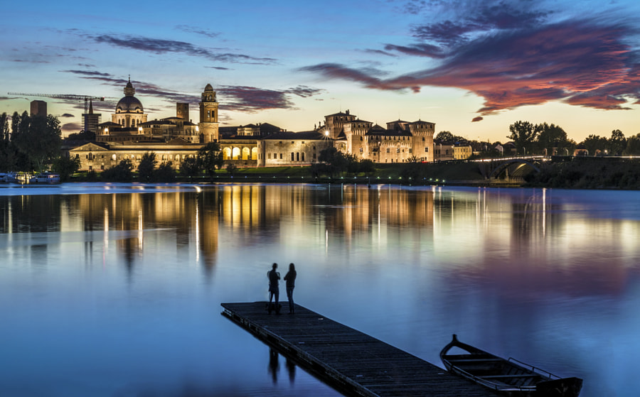 Admiring Mantova by Marcello Caponnetto on 500px.com