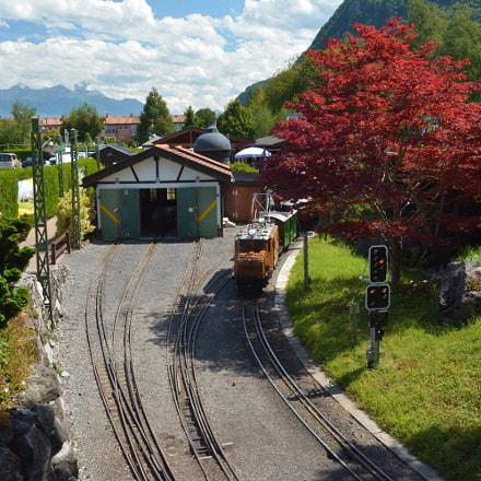 Swiss vapeur parc.