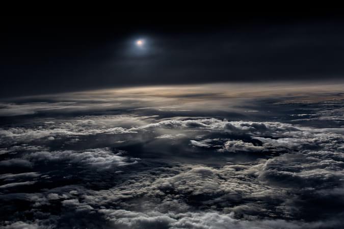 Sky in the dark