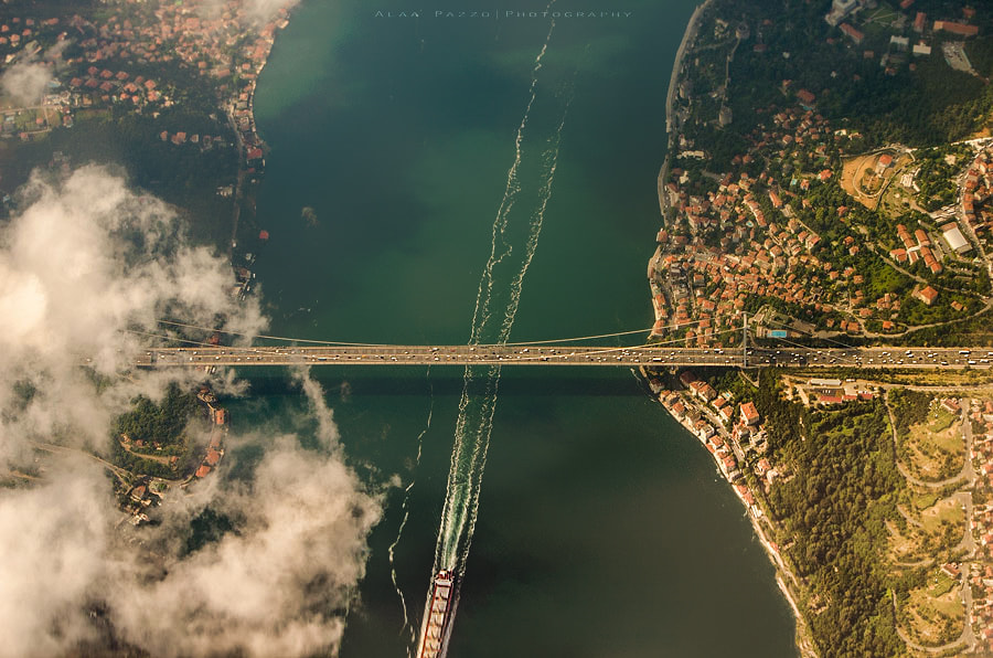 Photograph Bosphorus Bridge by Alaa Pazzo on 500px