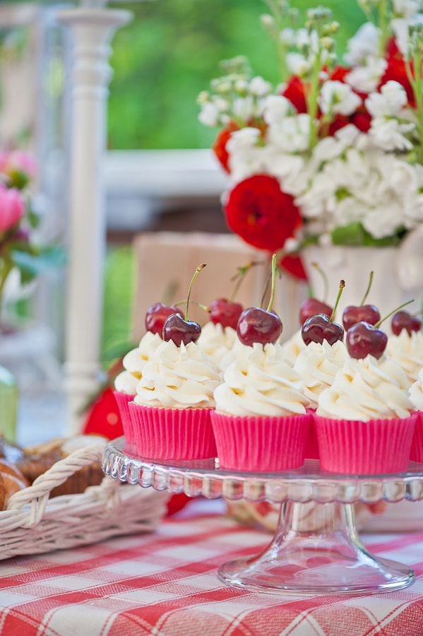 Photograph cherry cup-cakes by Galina Kochergina on 500px