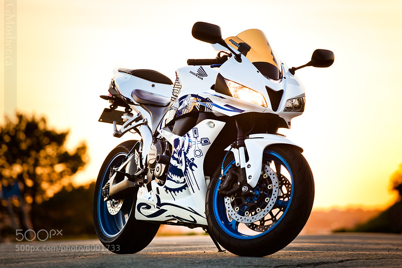 Photograph Honda Sportbike by G Mosher on 500px