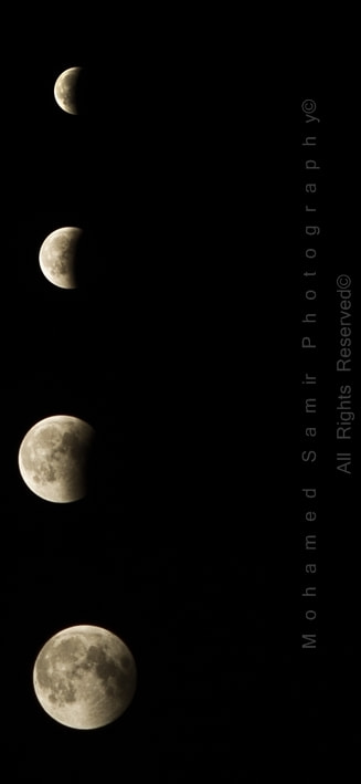 Photograph Moon Eclipse by Mohamed  Samir on 500px