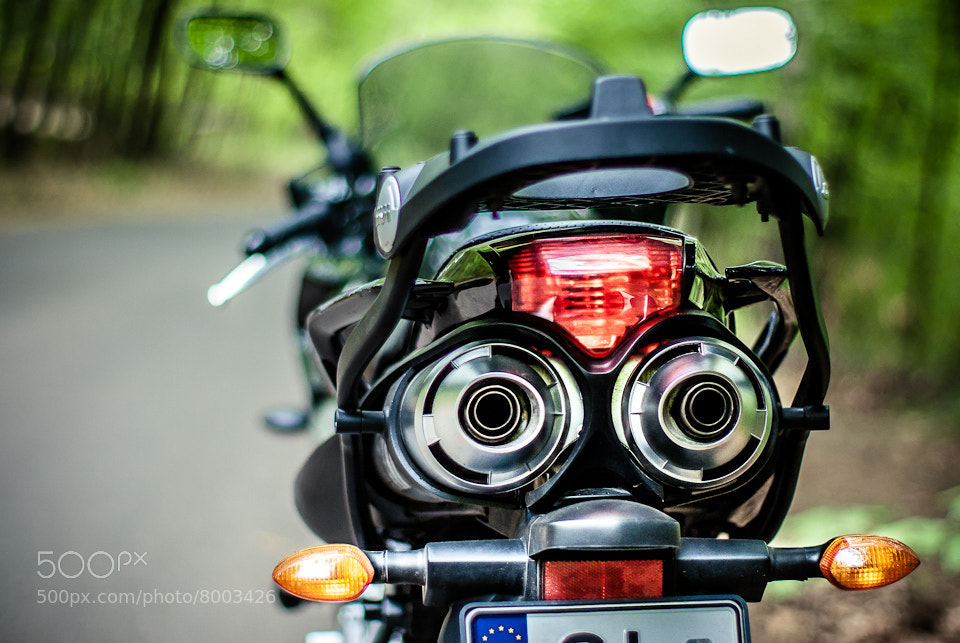 Photograph motorbike by Rafał Makieła on 500px