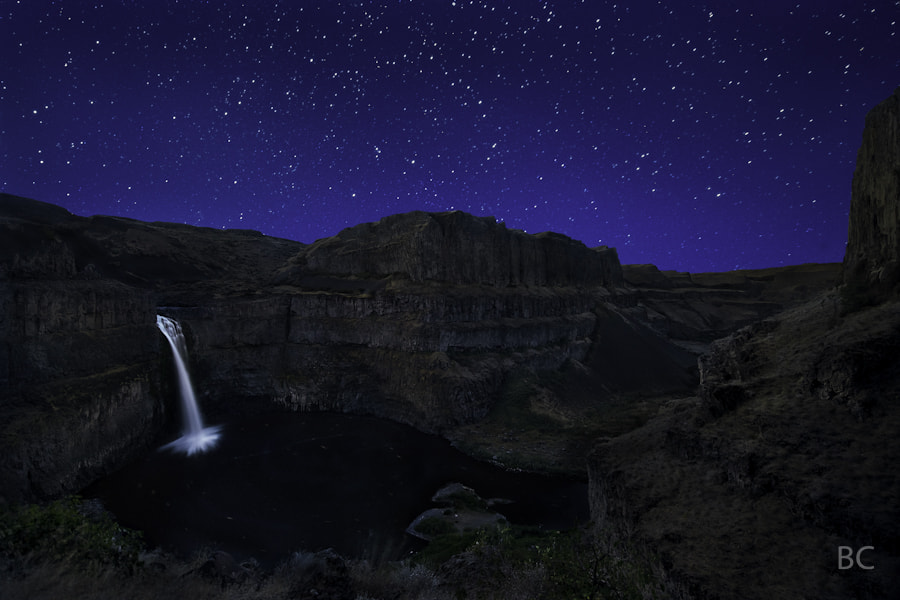 This is Palouse Falls State Park in Washington. 