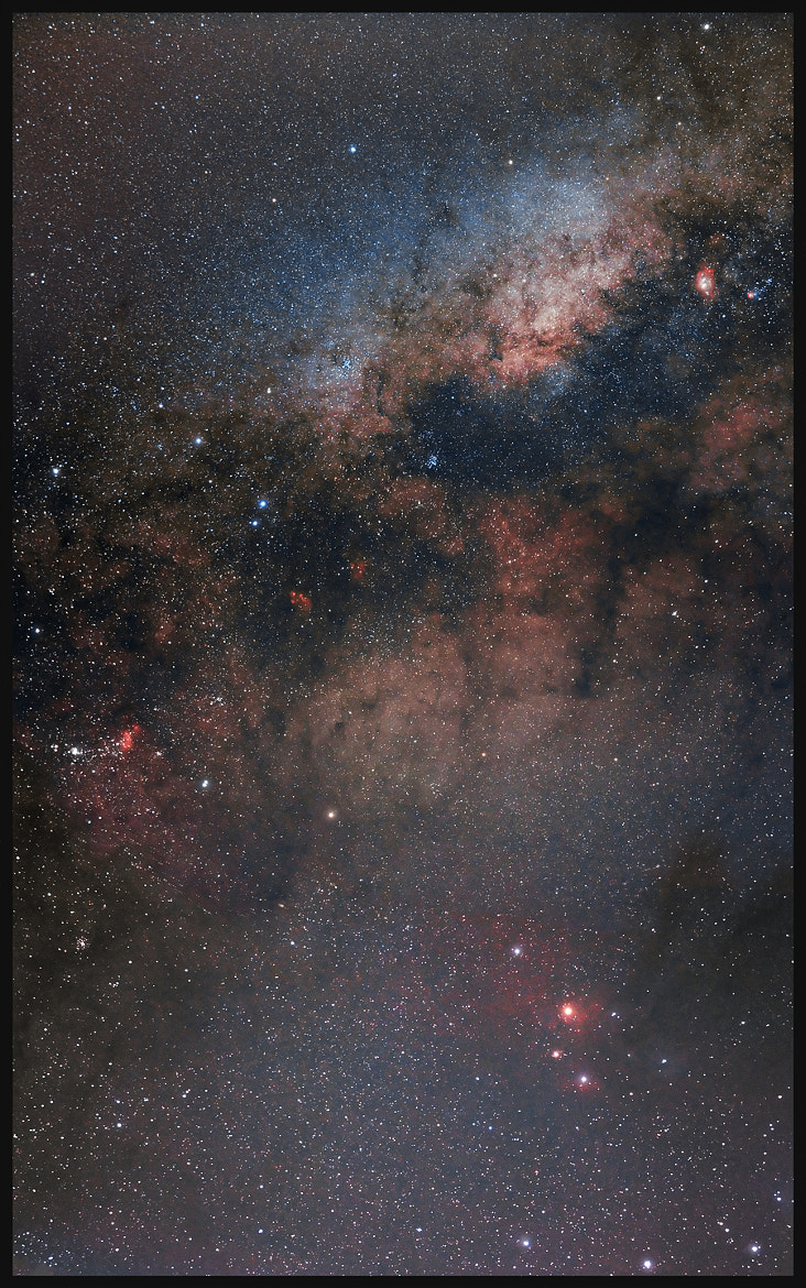 Photograph Scorpio and Milky Way by Rafael Defavari on 500px
