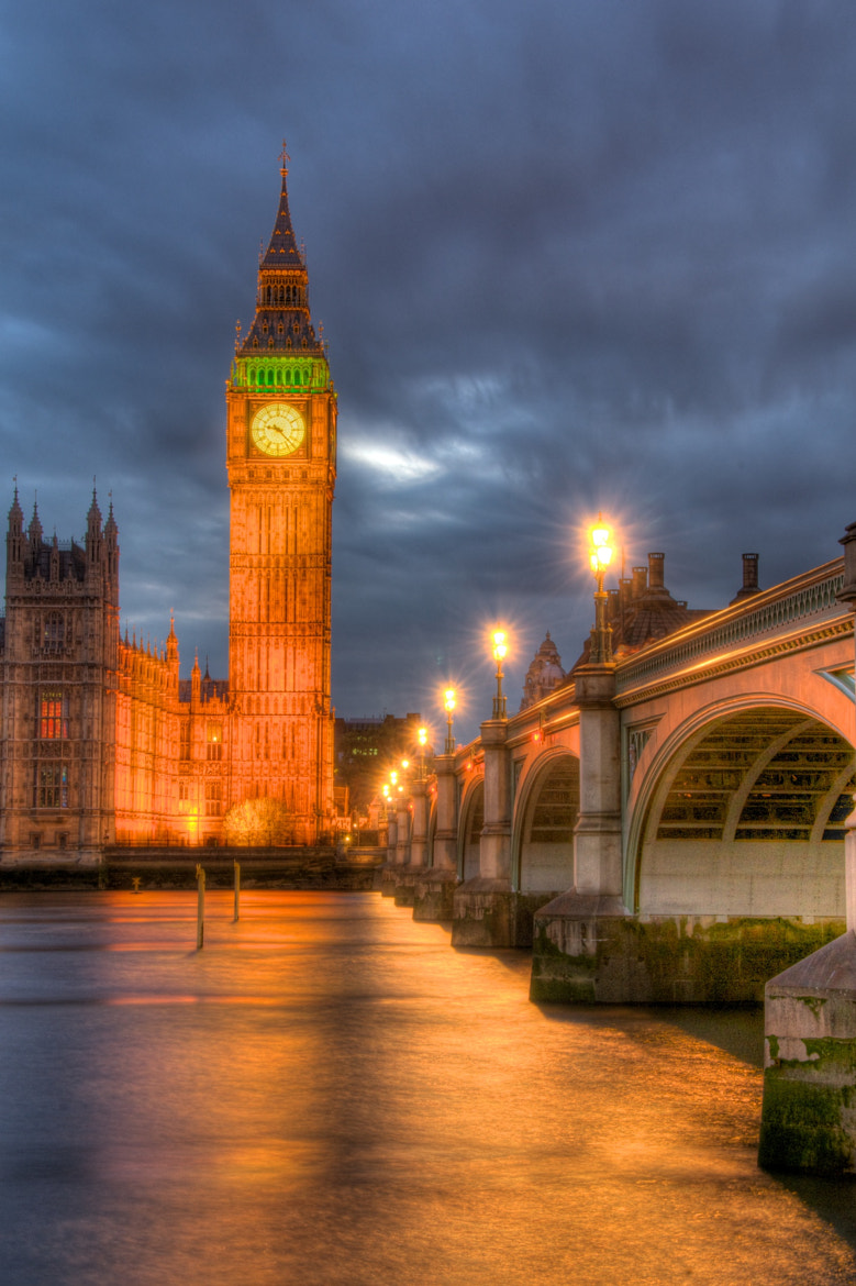 Photograph Big Ben and The Westminster Bridge by Gary Tsang on 500px