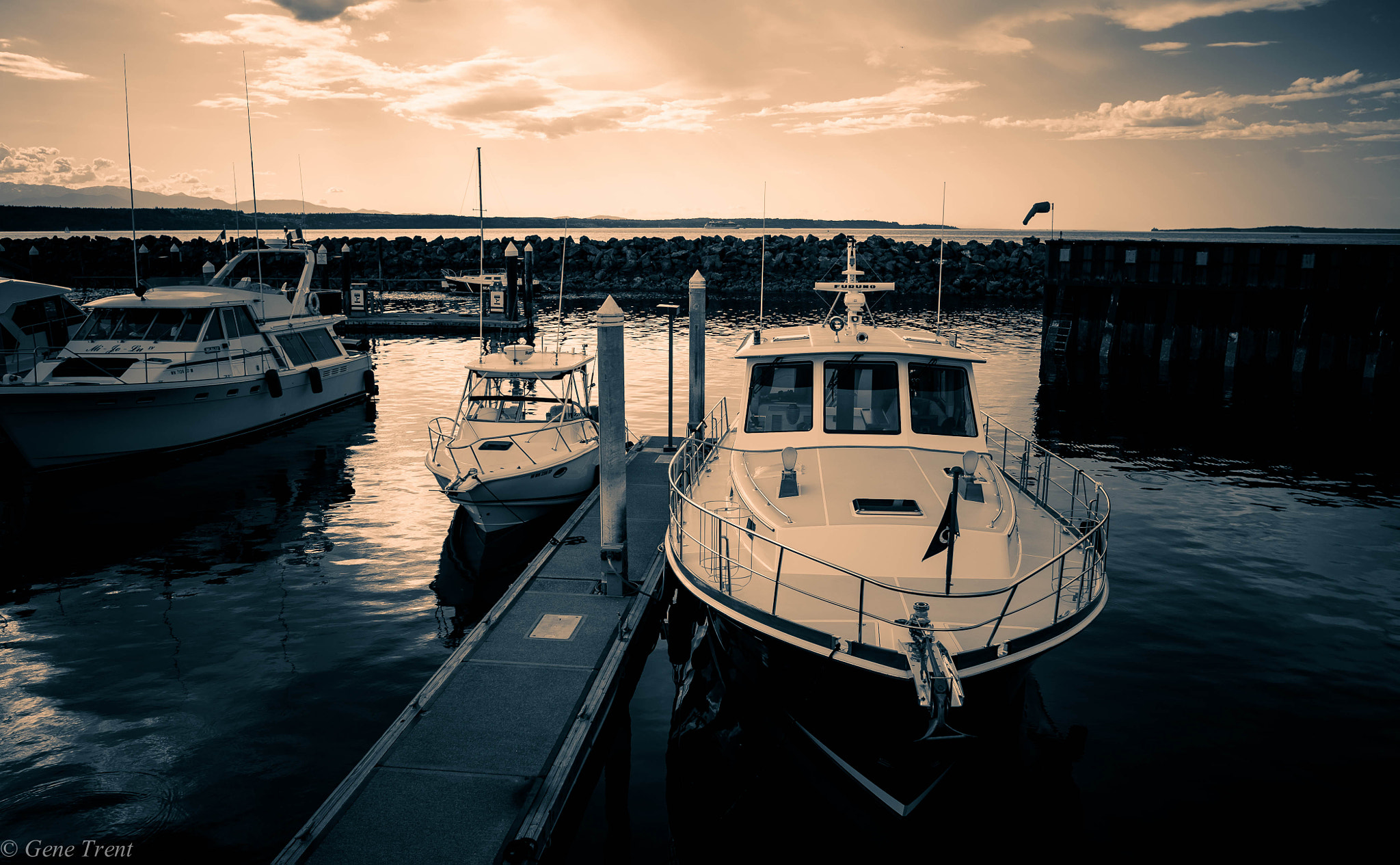 Photograph Evening dock by Gene Trent on 500px