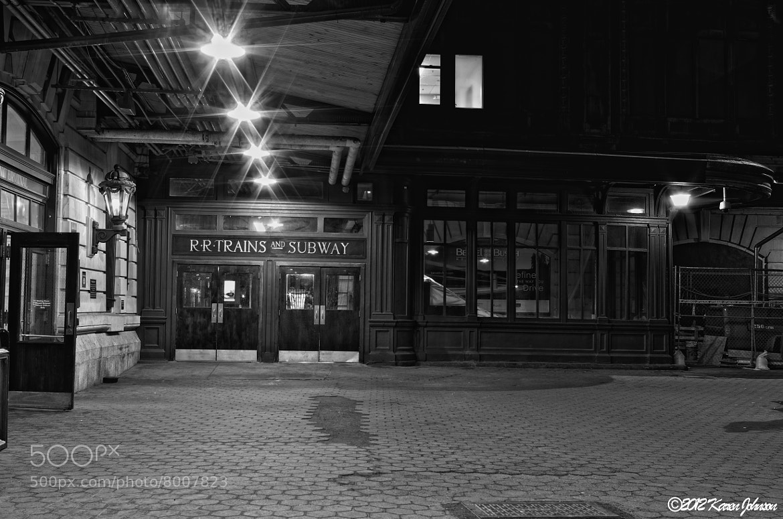 Photograph The Erie Lakawana Train Station by Karen Johnson on 500px