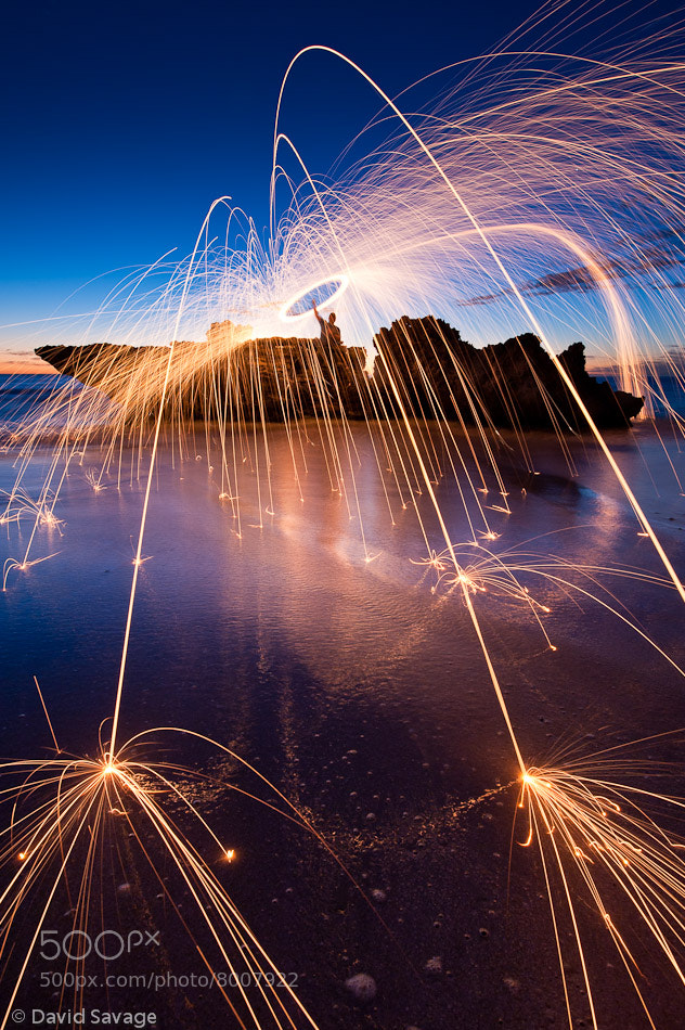 Photograph Skipping Sparks by David Savage on 500px