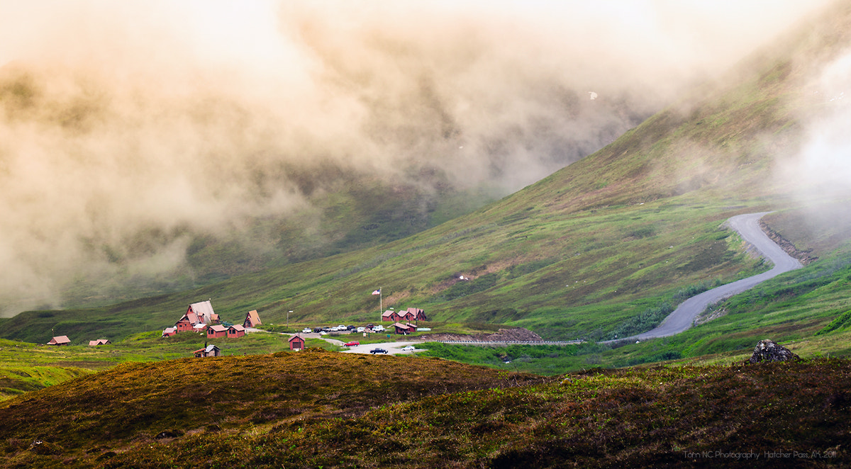 Photograph Foggy Hatcher Pass by Noppawat Charoensinphon on 500px