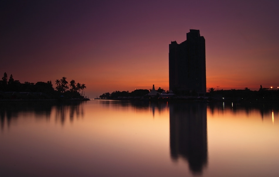 Photograph Ancol's sunrise by abdul azis on 500px
