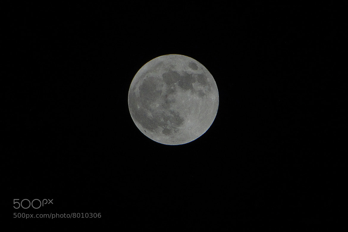 Photograph Super Moon ( Super Luna ) by Wilfrido Enríquez on 500px