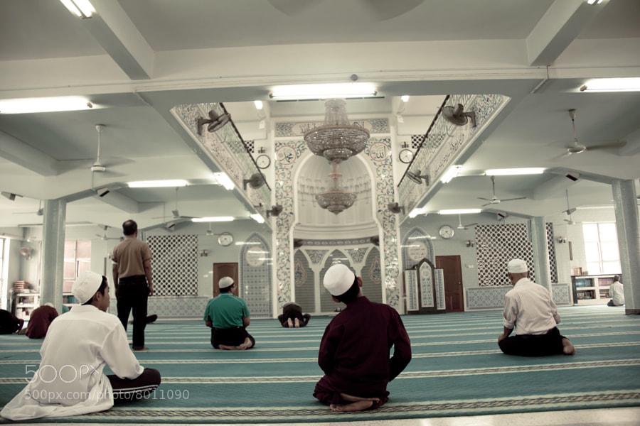 Masjid India Inside   (umar) on 500px.com
