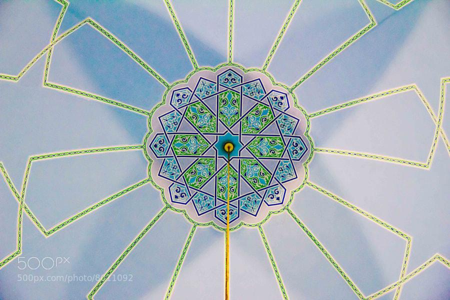 The Center of Sultan Haji Ahmad Shah Mosque    (umar) on 500px.com