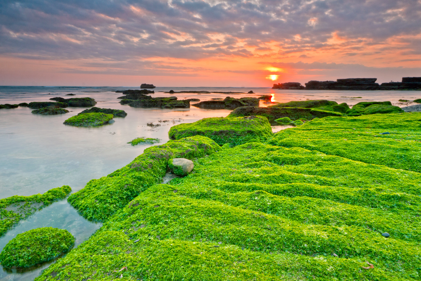 Photograph Sunset at Mengening Beach by Helminadia Ranford on 500px
