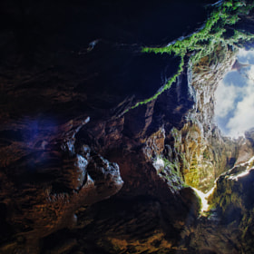 "The cave is ""Fairy Tale"" by Valeriy Mikhaylenko (nizacrow)) on 500px.com"