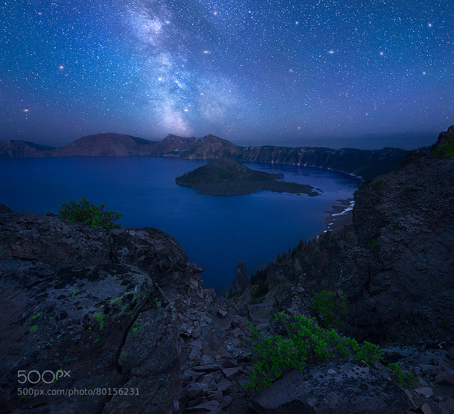 Photograph Not of this World - Crater Lake, Oregon by Dave Morrow on 500px