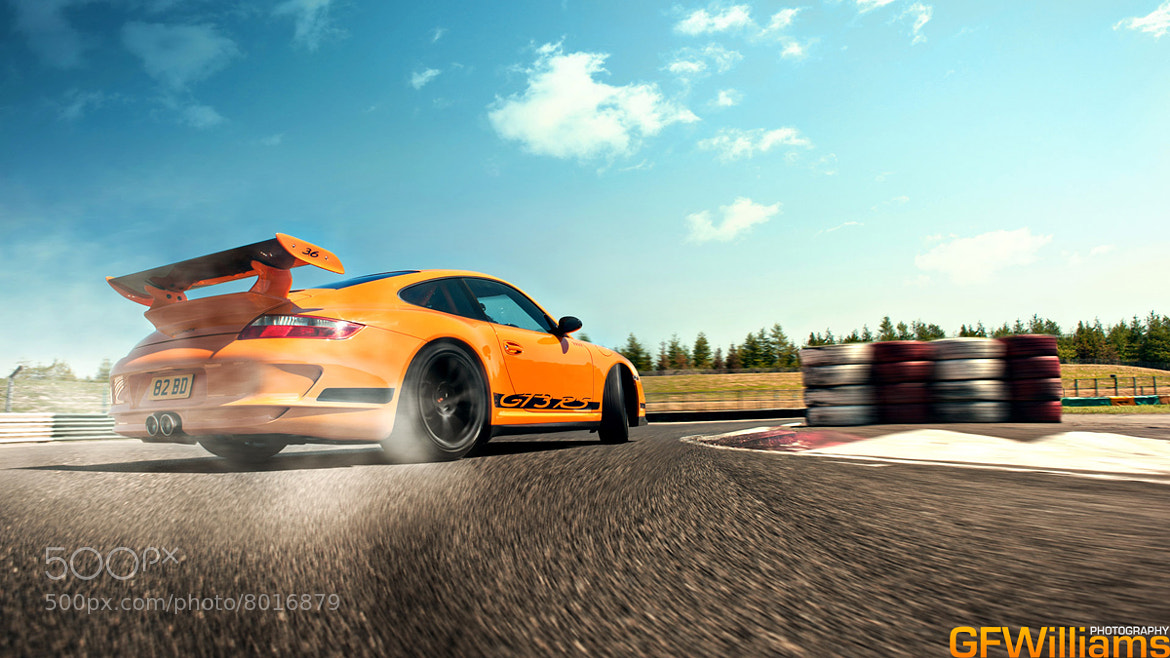 Photograph Porsche GT3RS Sideways by George Williams on 500px