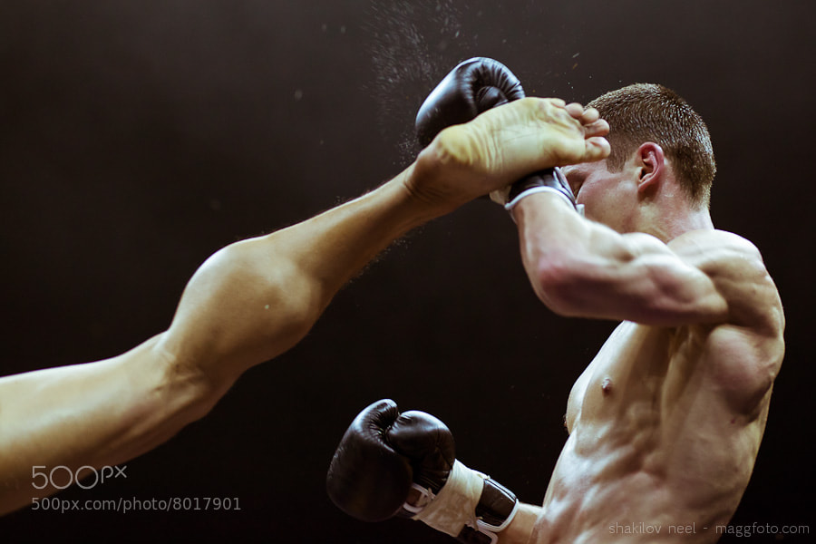 Photograph Muay Thai High Kick by Shakilov Neel on 500px