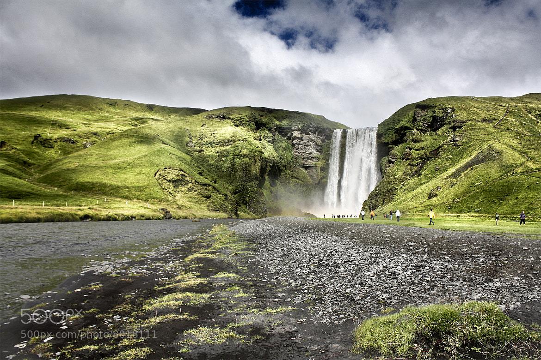 Photograph Skogafoss (Iceland) by Jesús Sánchez Ibáñez on 500px