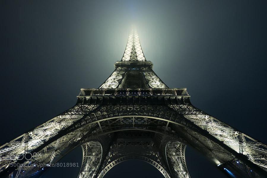 Photograph foggy Eiffel by Adam Dobrovits on 500px