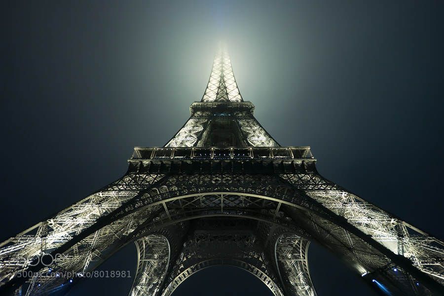 Photograph foggy Eiffel by Adam Dobrovits on 500px