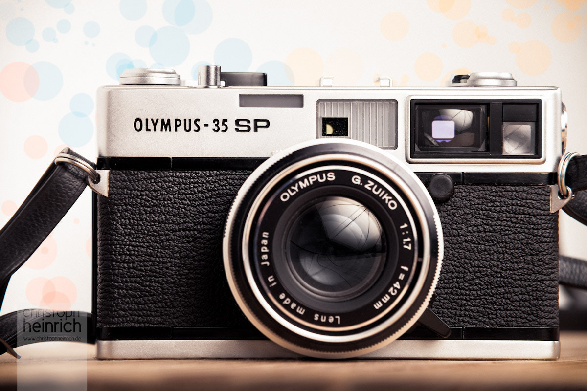 Photograph Olympus 35SP by Christoph Heinrich on 500px