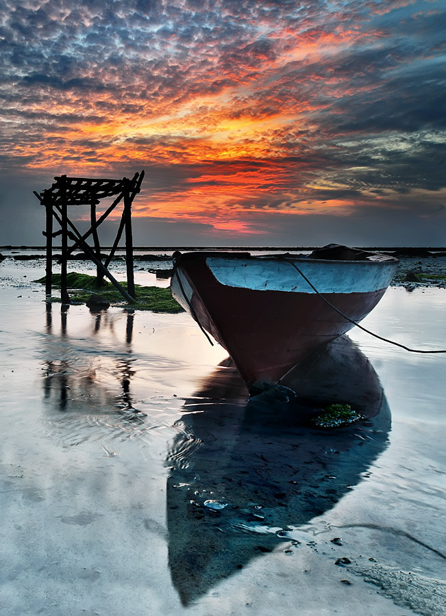 Photograph Boat and Shadow by Ade Rinaldi on 500px