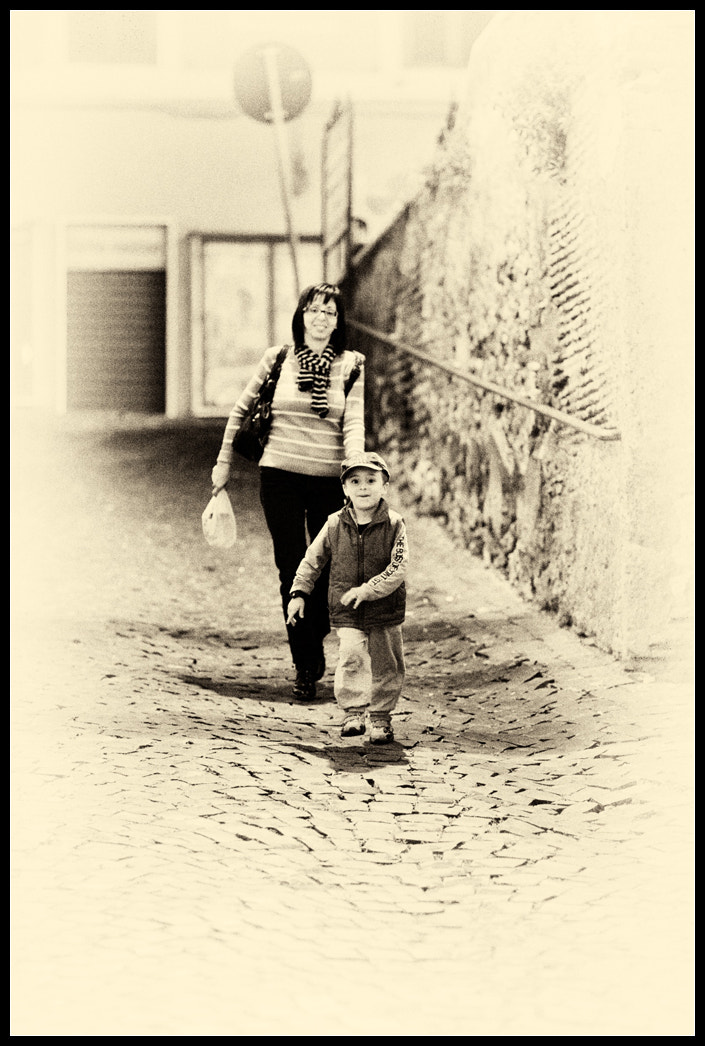 Photograph Running home by Lorenzo Bassanelli on 500px