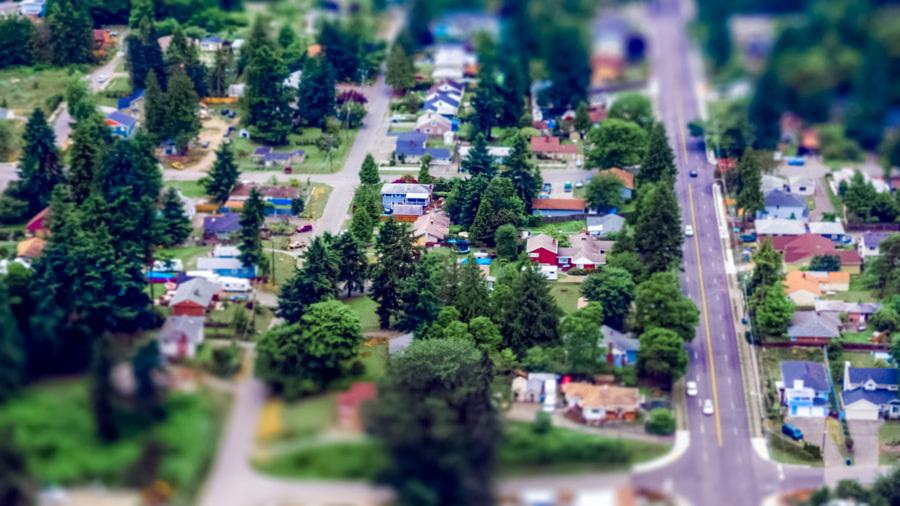 A Seattle suburb