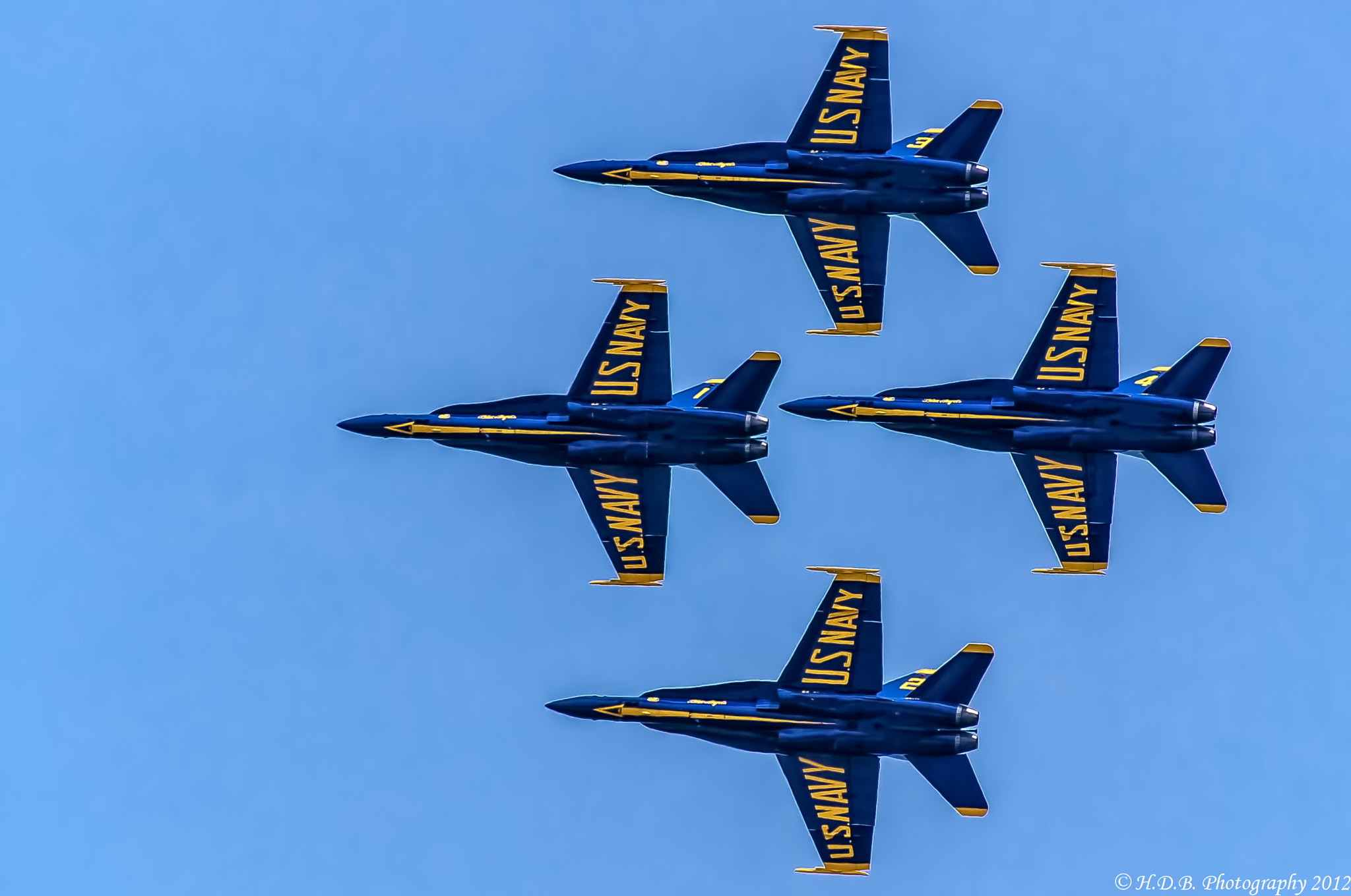 Photograph The Blue Angles by Harold Begun on 500px